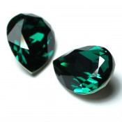 Fancy Stone Swarovski (Капли Сваровски) 4320 Fancy Stone капли Emerald (зеленый)