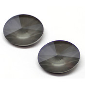 Round Stones Swarovski (Ювелирные кристаллы Сваровски) Oval Rivoli Swarovski Dark Grey