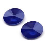 Round Stones Swarovski (Ювелирные кристаллы Сваровски) Oval Rivoli Swarovski Royal Blue