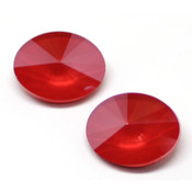 Round Stones Swarovski (Ювелирные кристаллы Сваровски) Oval Rivoli Swarovski Royal Red