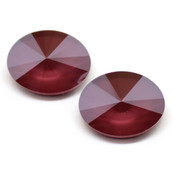Round Stones Swarovski (Ювелирные кристаллы Сваровски) Oval Rivoli Swarovski Dark Red