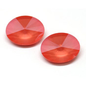 Round Stones Swarovski (Ювелирные кристаллы Сваровски) Oval Rivoli Swarovski Light Coral