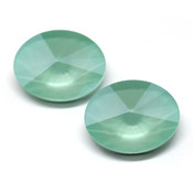 Round Stones Swarovski (Ювелирные кристаллы Сваровски) Oval Rivoli Swarovski Mint Green