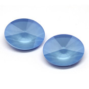 Round Stones Swarovski (Ювелирные кристаллы Сваровски) Oval Rivoli Swarovski Summer Blue