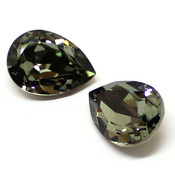Fancy Stone Swarovski (Капли Сваровски) 4320 Капли Swarovski 4320 Black Diamond