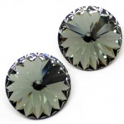 Rivoli Swarovski (Риволи Сваровски) Chaton Stone 1122 Rivoli Swarovski Black Diamond