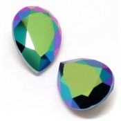 Fancy Stone Swarovski (Капли Сваровски) 4320 Fancy Stone капли Scarabaeus Green