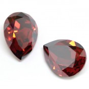 Fancy Stone Swarovski (Капли Сваровски) 4320 Fancy Stone Капли Red Magma