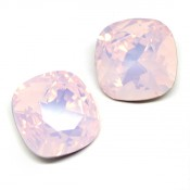 Swarovski Cushion Square 4470 Кристаллы Swarovski 4470 цвет Rose Water Opal