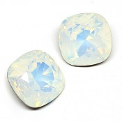 Swarovski Cushion Square 4470 Кристаллы Swarovski 4470 цвет White Opal